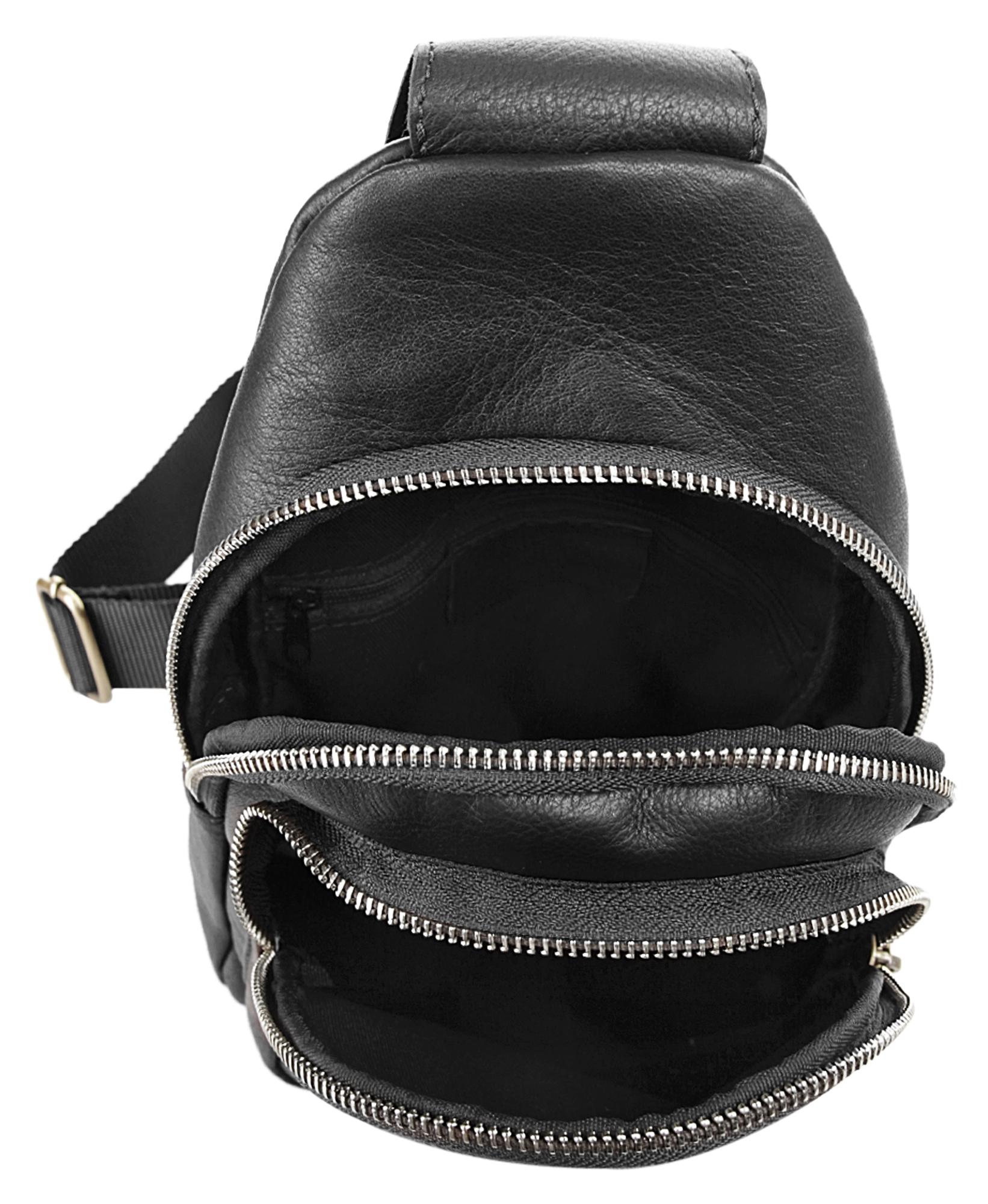 Piké Crossover Bag in schwarz günstig kaufen
