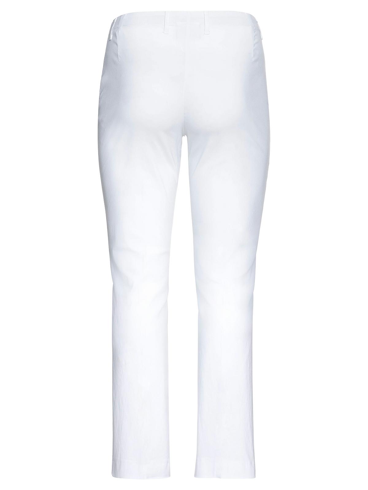 Sheego Bengalin-Hose in weiß günstig kaufen