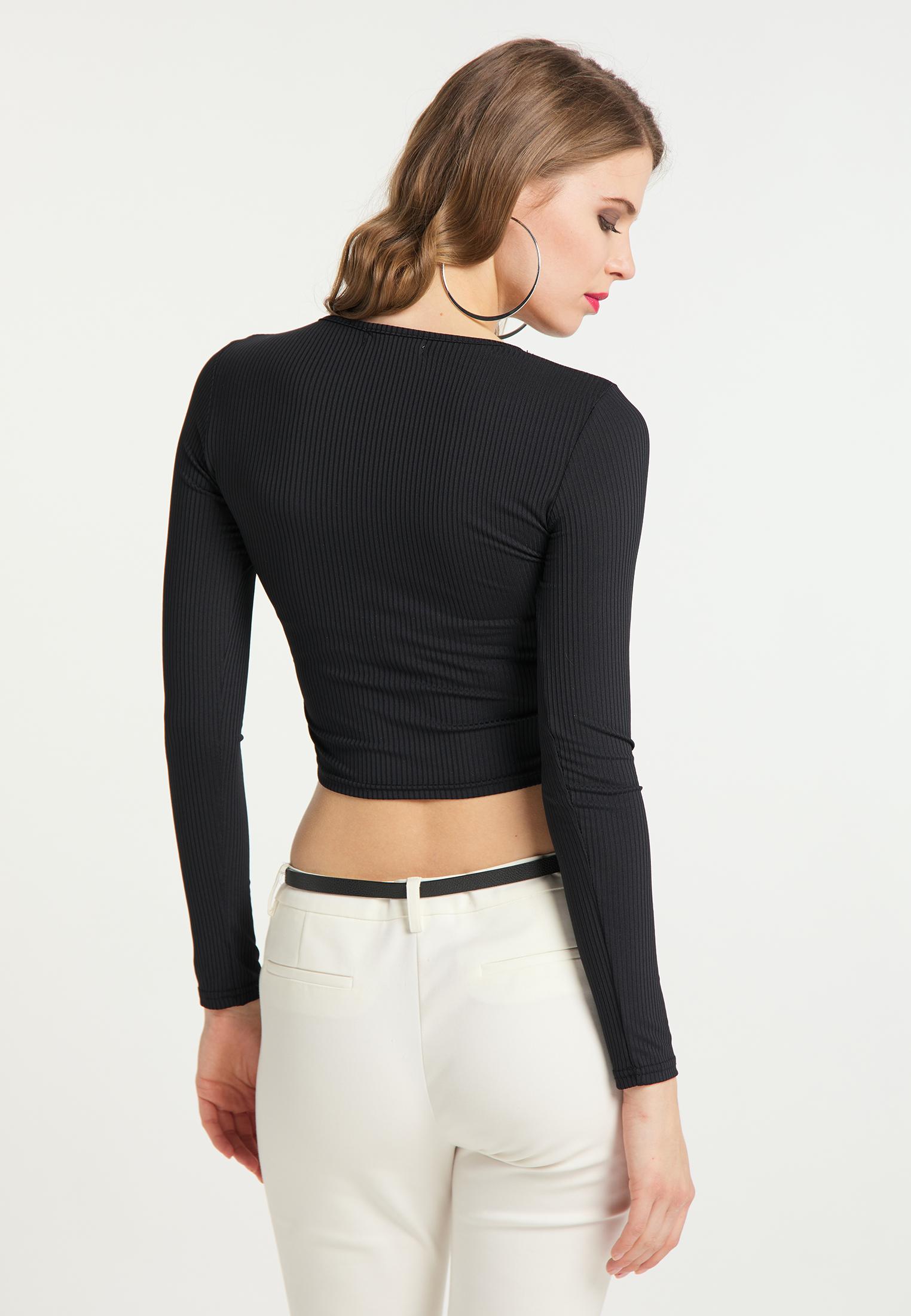 Faina Shirt in schwarz günstig kaufen