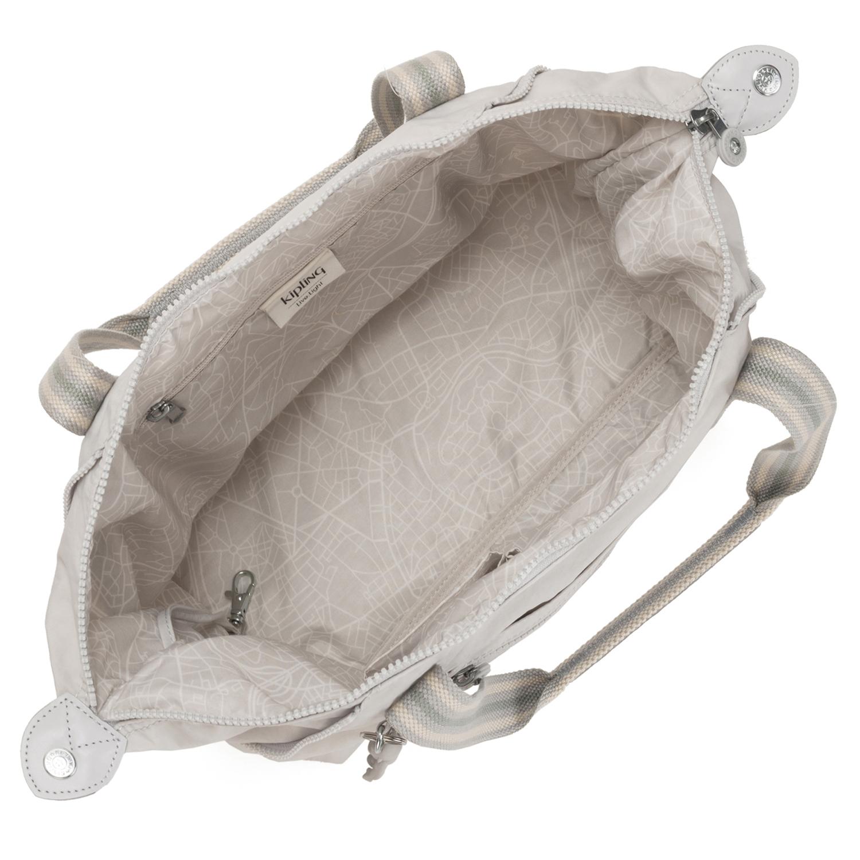 Kipling Basic Art Schultertasche 34 cm in curiosity grey günstig kaufen