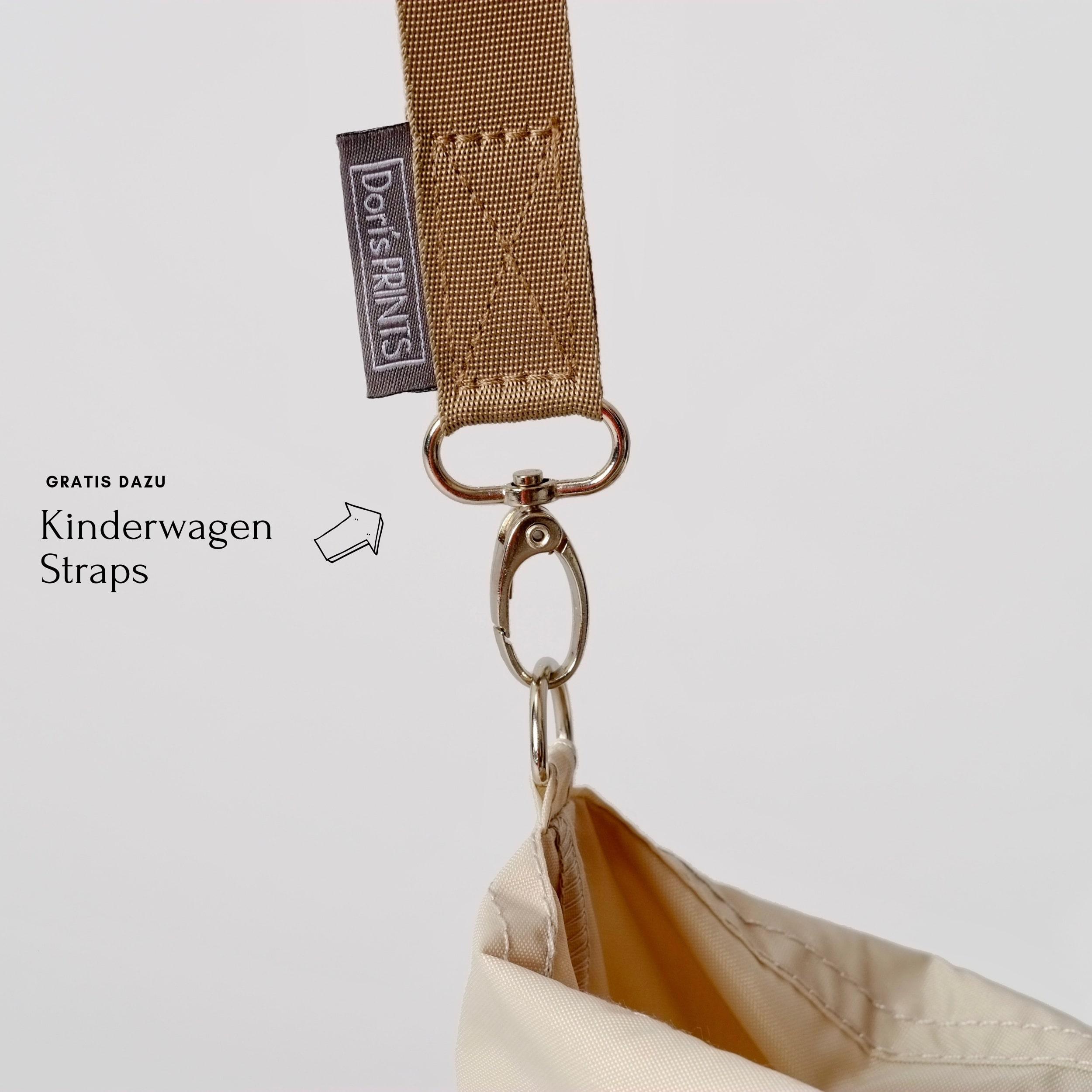 Dori's Prints Tasche in Grau mit Hamster Motiv/ 3er Set - Beutel + Haken + Kosmetiktasche günstig kaufen