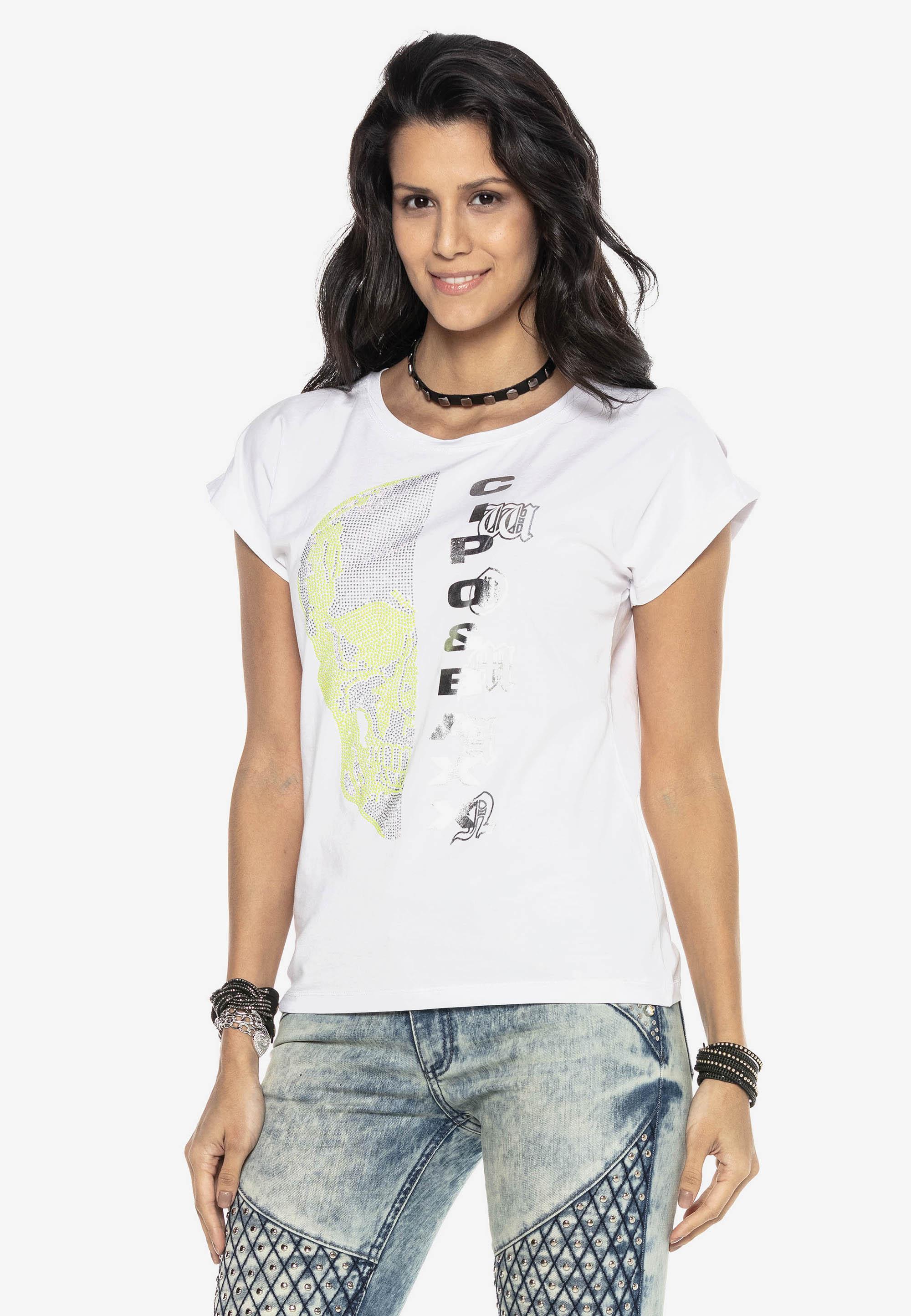 Cipo & Baxx T-Shirt in Weiss günstig kaufen