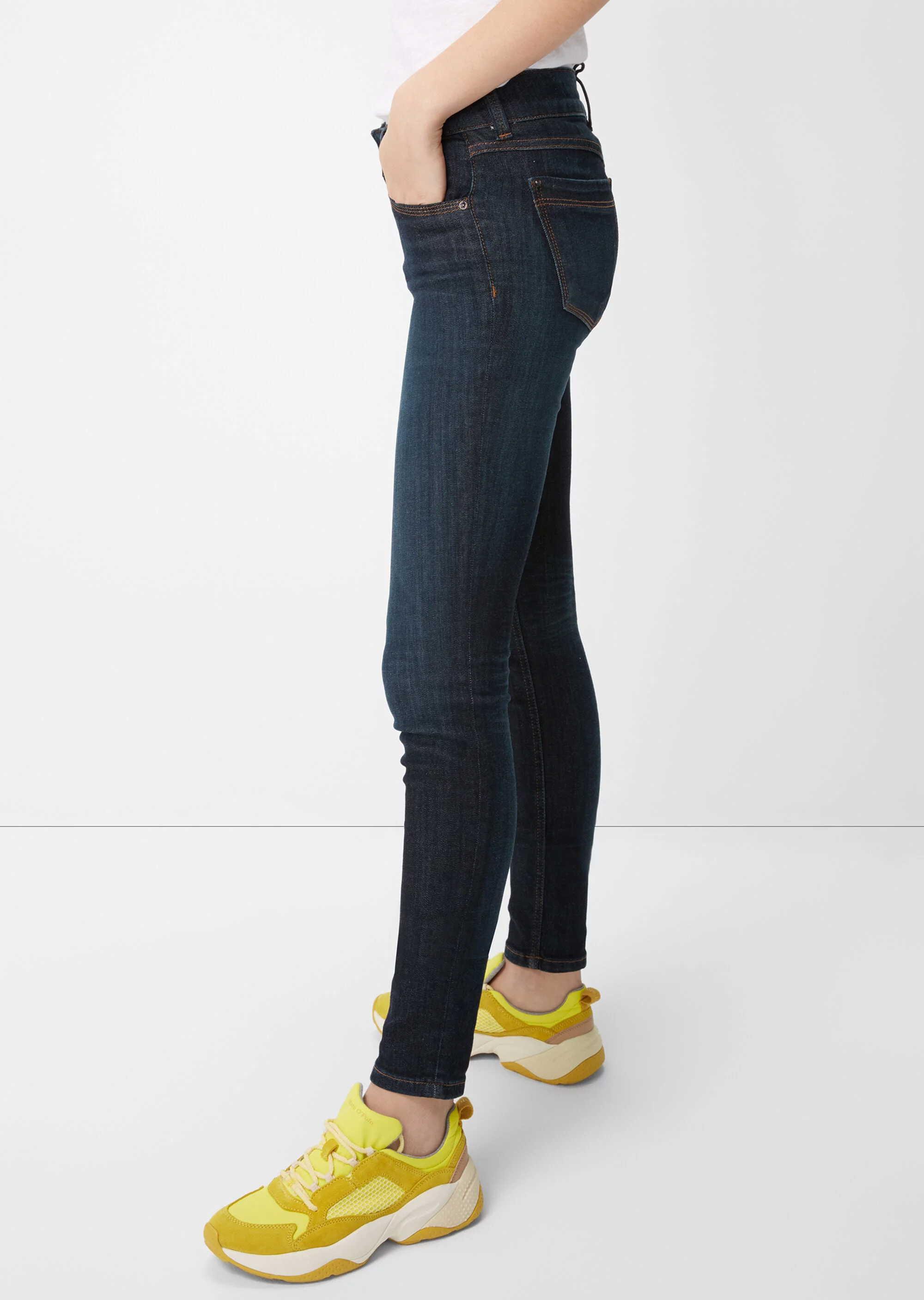 Marc O'Polo Slim Fit Jeans in blau günstig kaufen