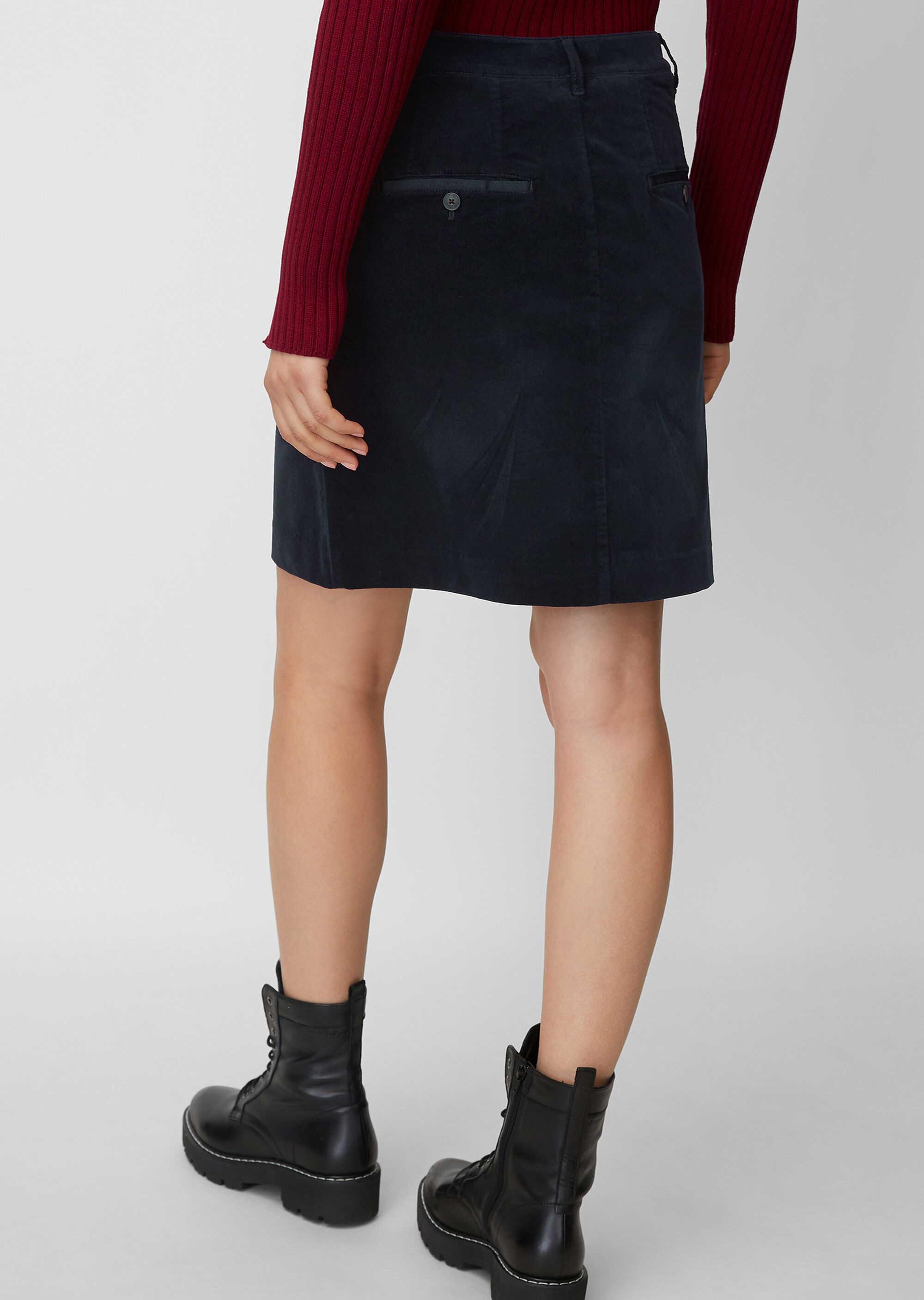 Marc O'Polo A-Linien Röcke in dunkel-blau günstig kaufen