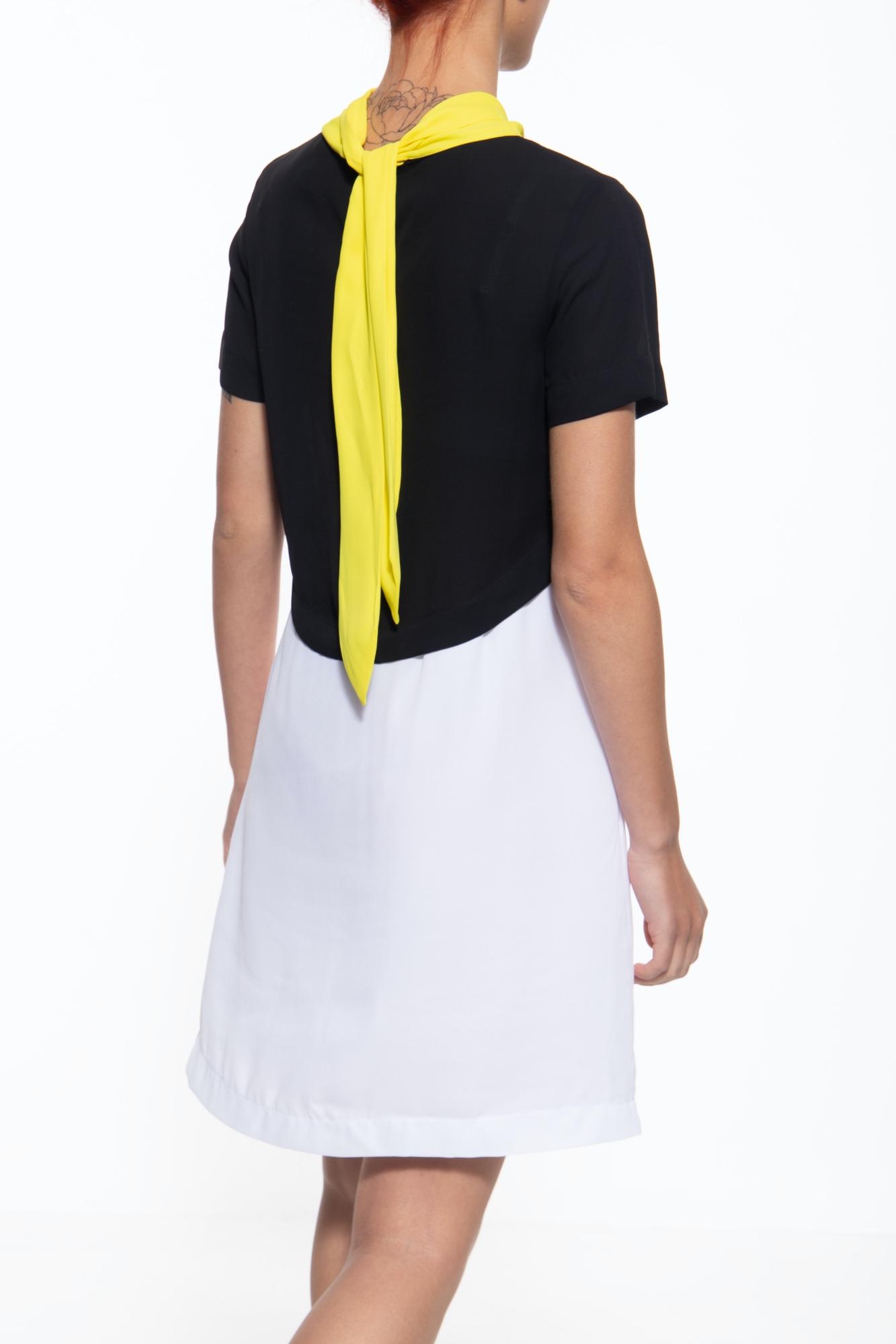 Mexx Leichtes Sommerkleid mit gerader Schnittform in mehrfarbig günstig kaufen