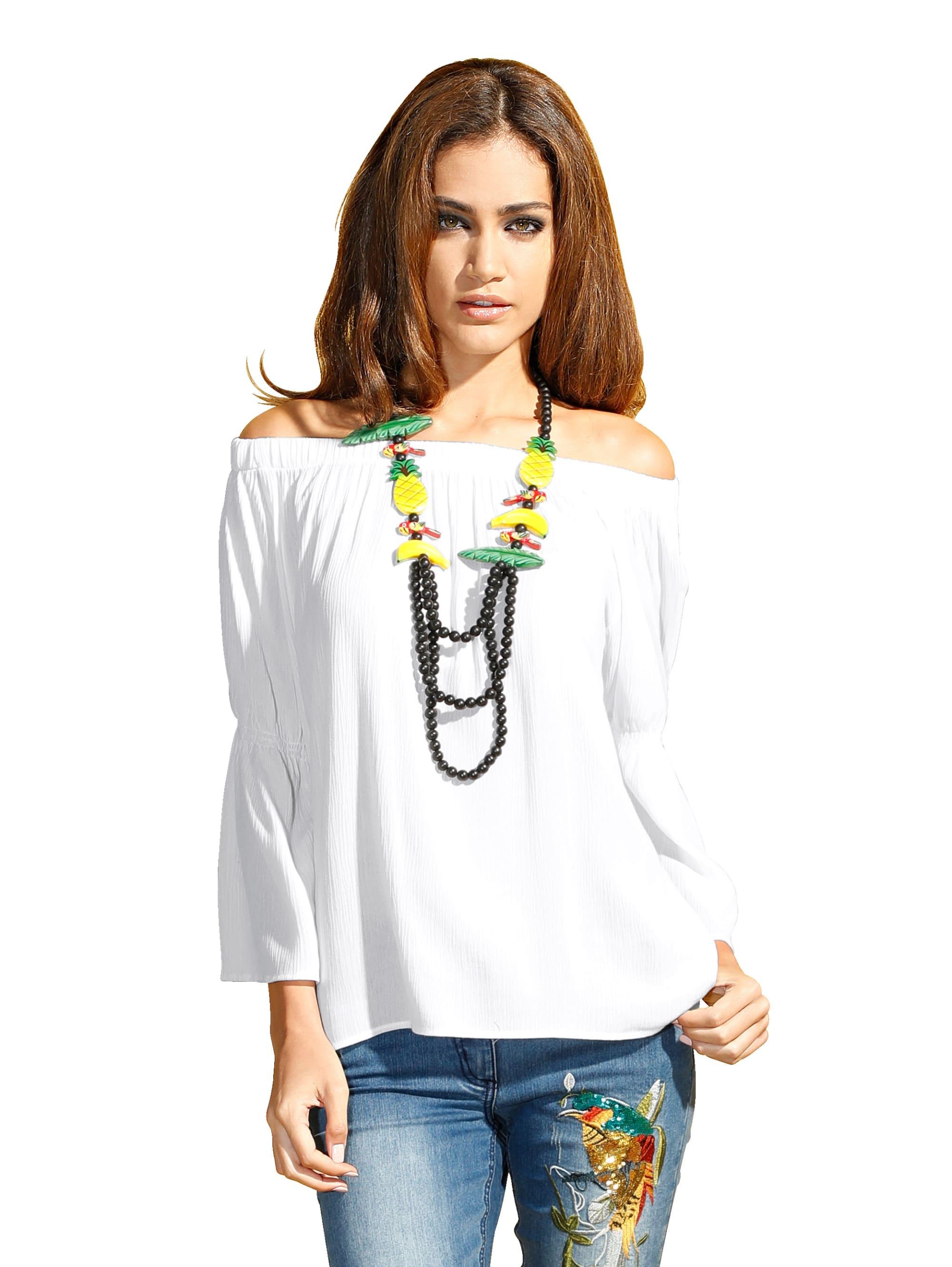 AMY VERMONT Bluse in Off-white günstig kaufen