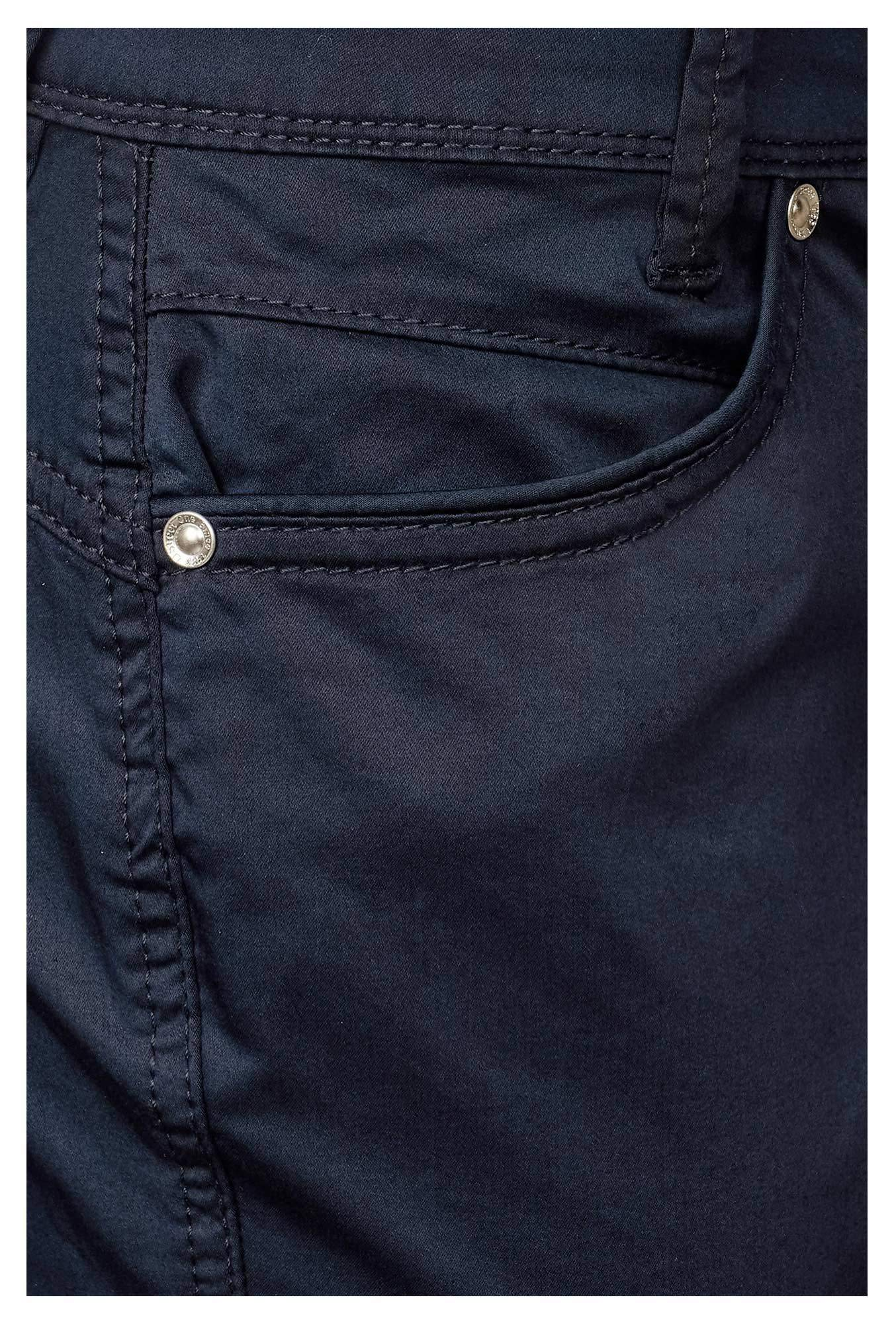 Street One Hosen & Shorts in dunkel-blau günstig kaufen