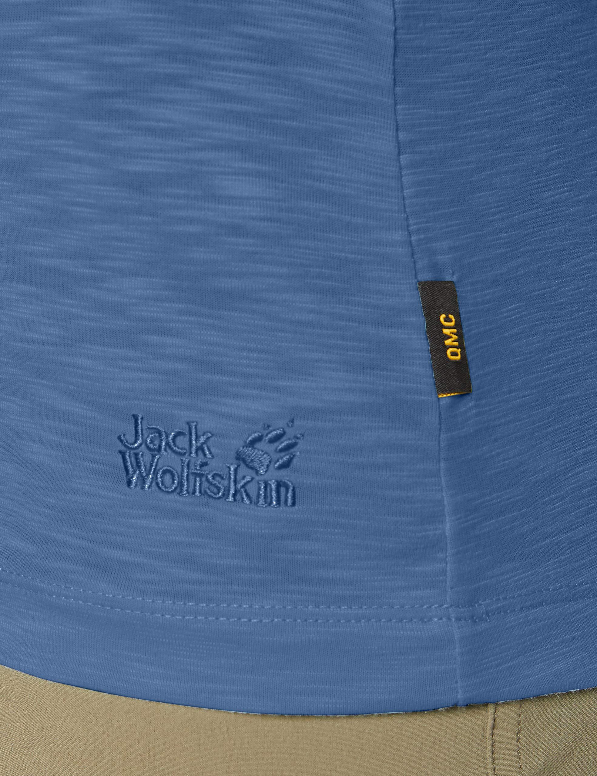 Jack Wolfskin Shirts in ocean günstig kaufen