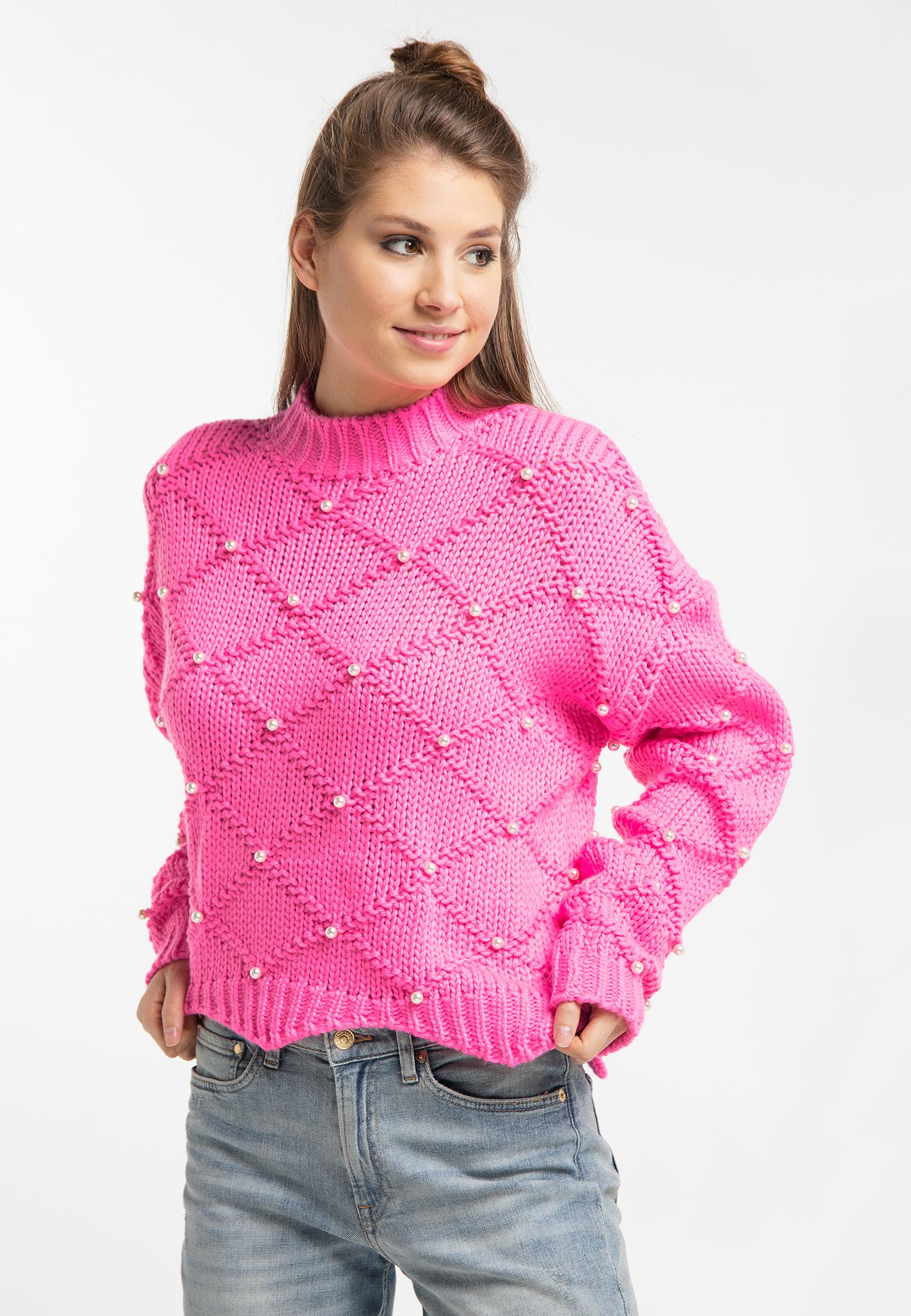 MyMo Pullover in neon pink günstig kaufen