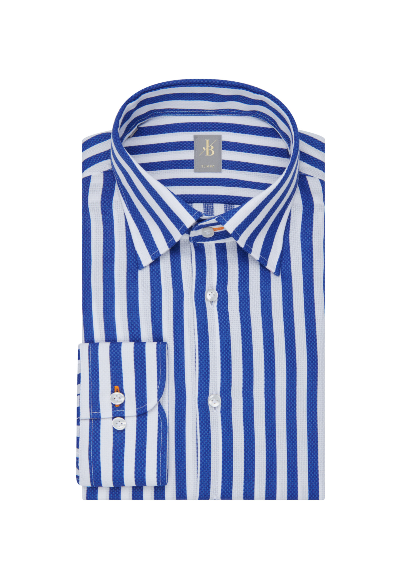 JACQUES BRITT Business Hemd Slim Fit in Mittelblau günstig kaufen