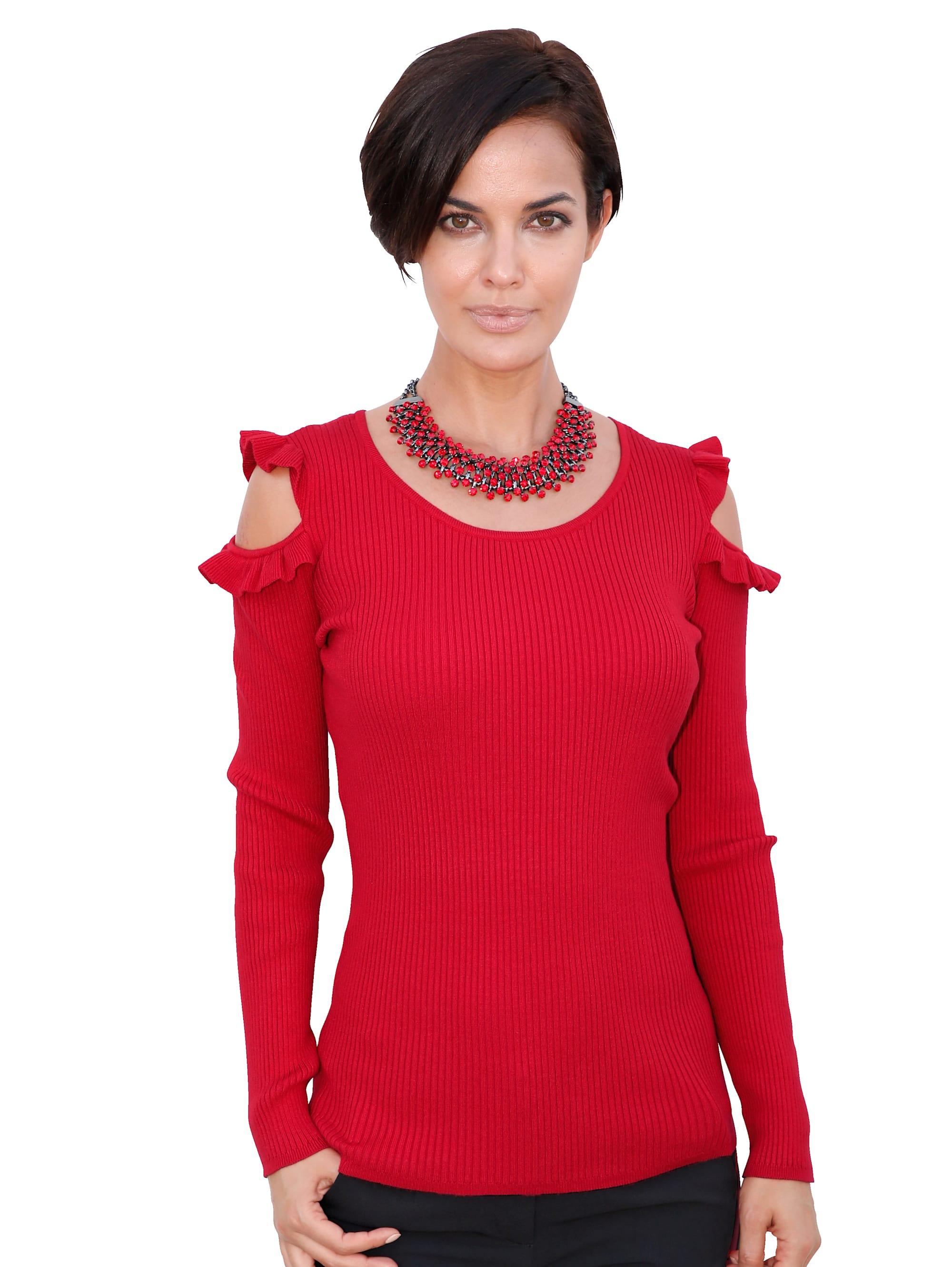 AMY VERMONT Pullover in Rot günstig kaufen