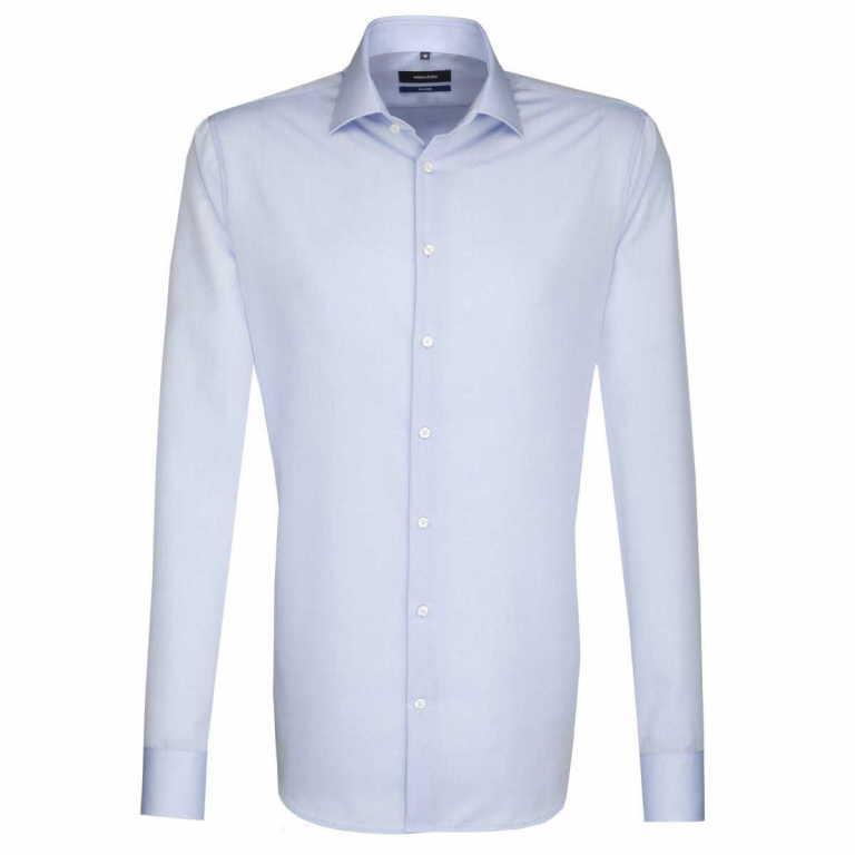 Seidensticker Langarm Business Hemd in blau günstig kaufen