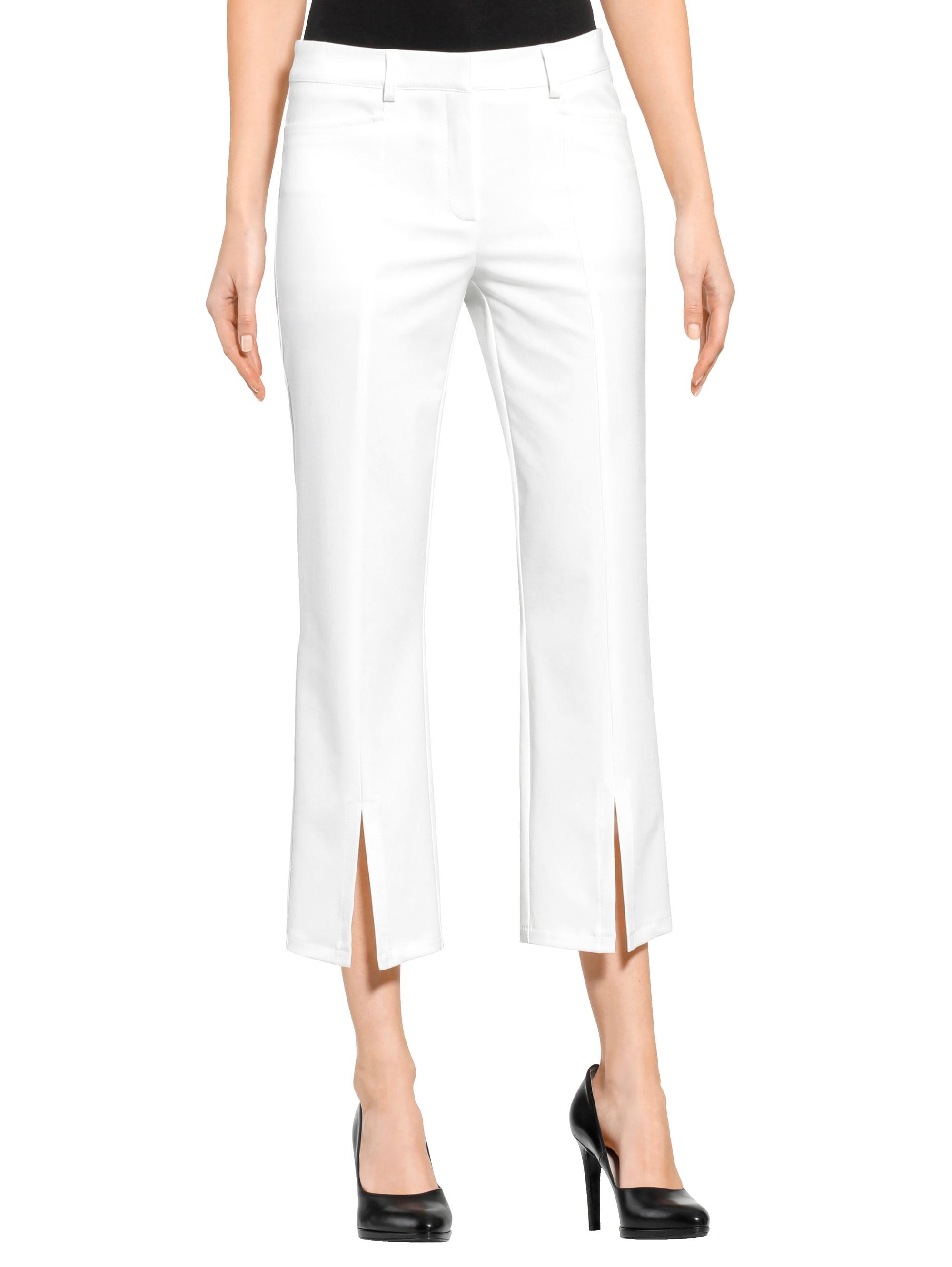 Alba Moda Hose in Weiß günstig kaufen