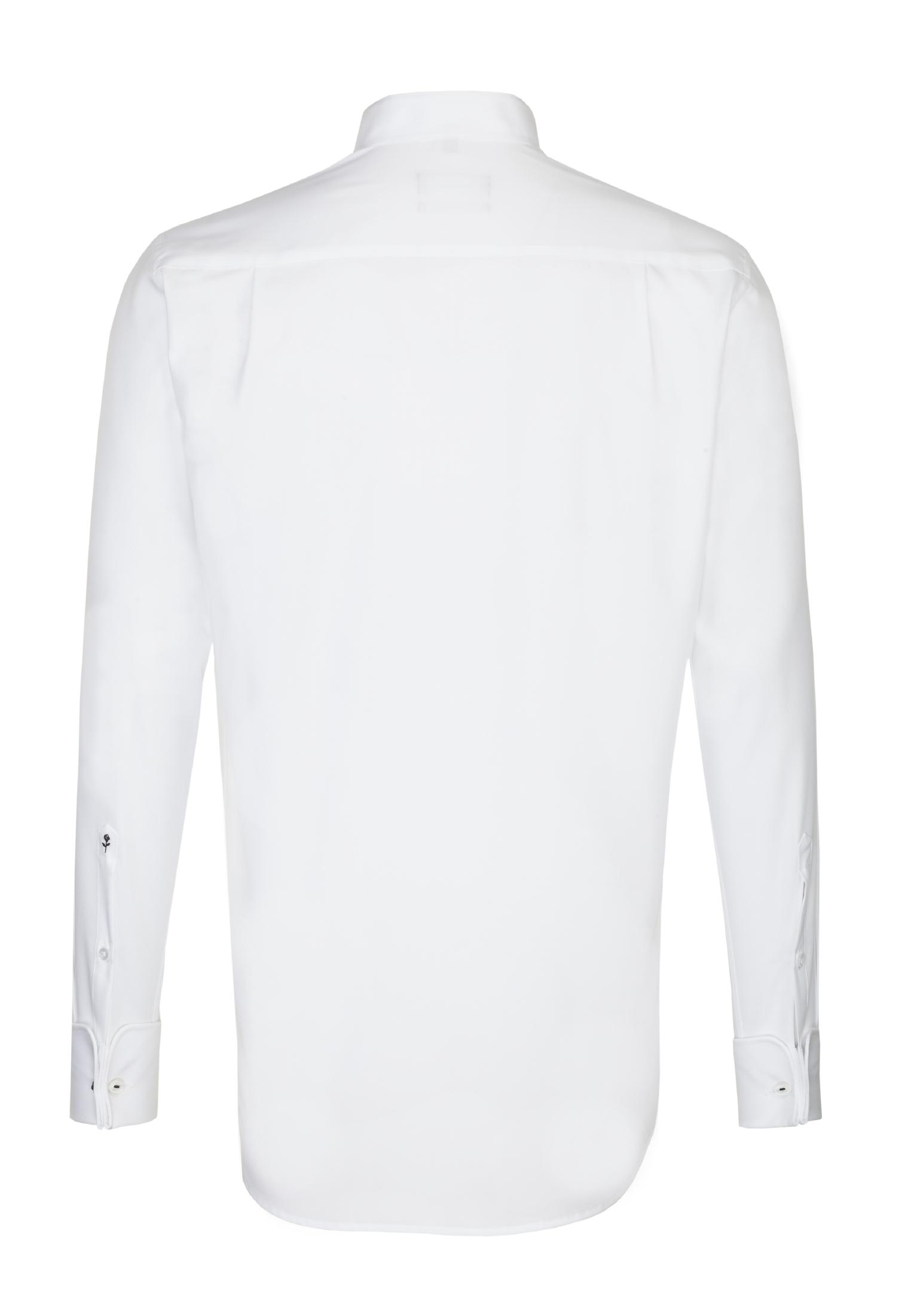 Seidensticker Smokinghemd Regular in Weiß günstig kaufen