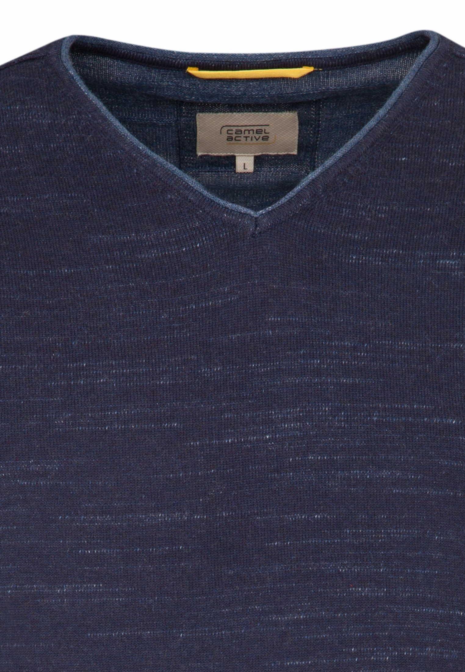 Camel Active V Pullover in blau günstig kaufen