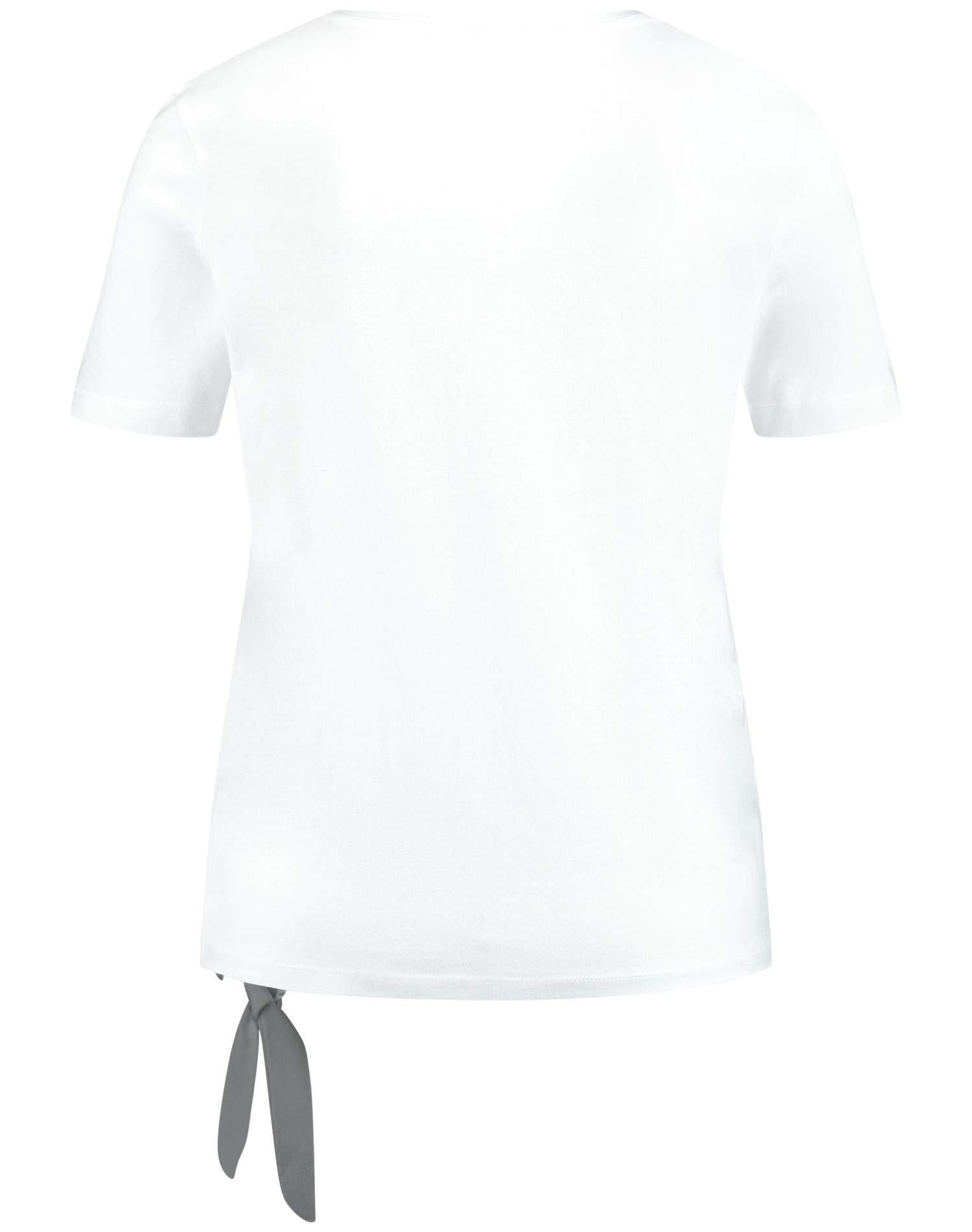 Gerry Weber Rundhals T-Shirt in weiß günstig kaufen