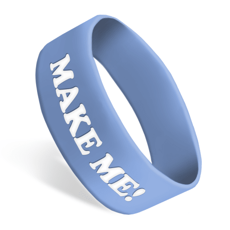 Ultra Wide Silicone Wristbands