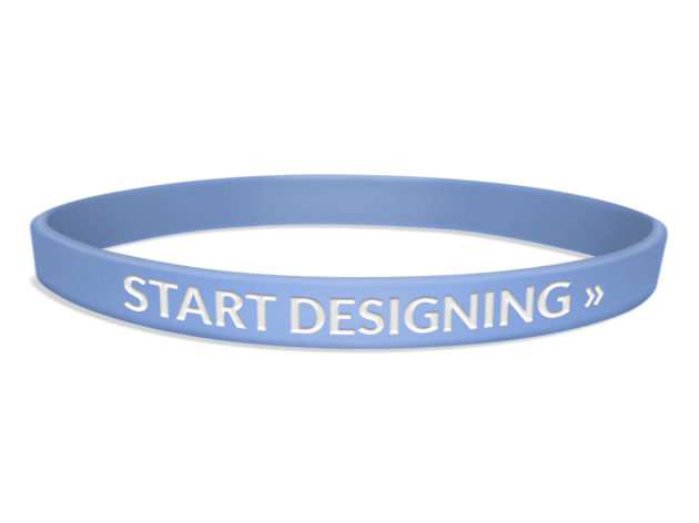 Ultra Thin Silicone Wristbands