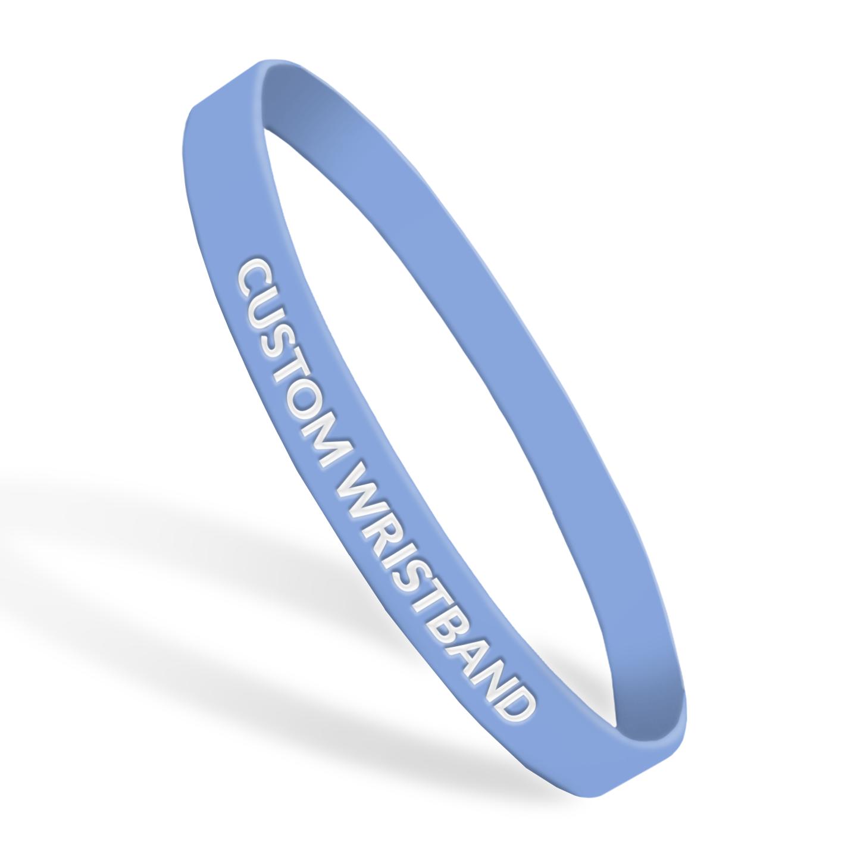 6710367c705aa Custom Wristbands - Rubber - Ultra Thin