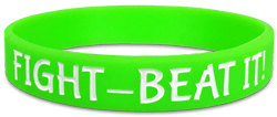 Classic Custom Wristband – Debossed and Ink Filled