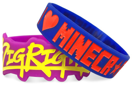 Custom silicone wristbands example