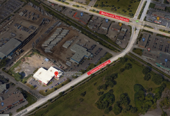 New Office in Industrial Building to Be Built