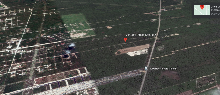 10 Acres Cancun Mexico Land For Developmemnt
