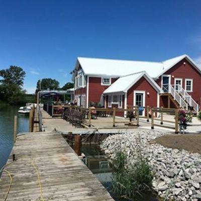 Hoover's Marina on Lake Erie