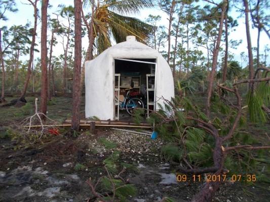 Portable Above Ground Tornado Shelter