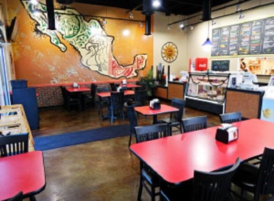 A Mexican-themed Café