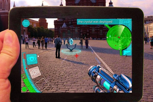 Augmented Reality Mobile Game With Patent