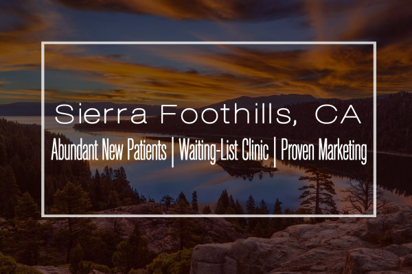 Modern Clinic for Sale in the Sierra Foothills, CA