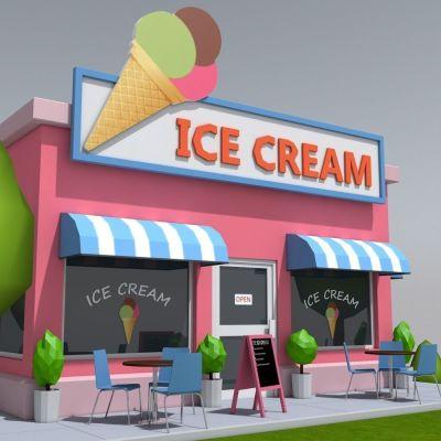 Ice Cream Store for Sale