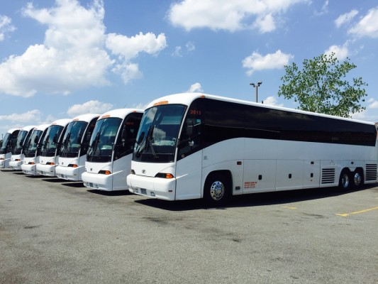 Midwest Area Charter Bus Company