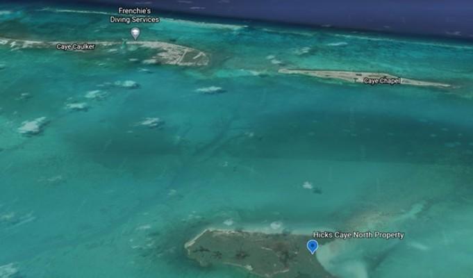 Hicks Caye Private Island Beach Property For Sale