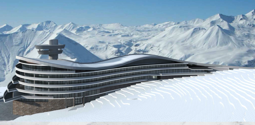 Casino, Ski Resort, Hotel, Entertainment/Caucasus