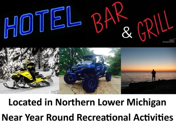 Rustic Northern Michigan Restaurant and Hotel