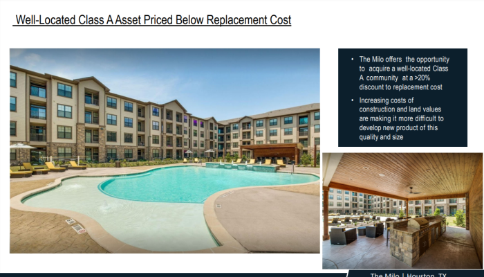 230 Unit Class A Asset with Value‐Add In Houston