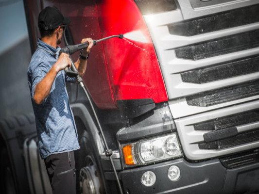 Truck Wash, Washout, Full Service, Transportation