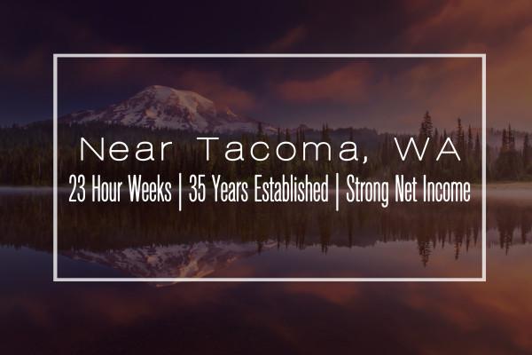 $194,000 Net — Spacious Clinic in Tacoma, WA