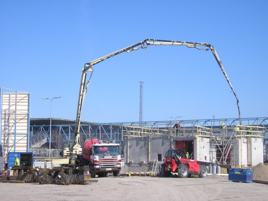 Concrete Pumping for Schools & Hospitals