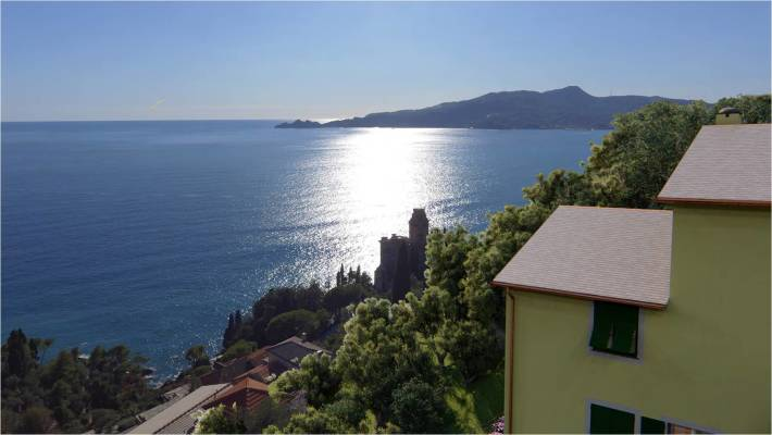Old House for Redevelopment Italian Riviera