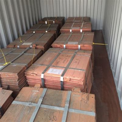 Copper Cathode By Full Containers
