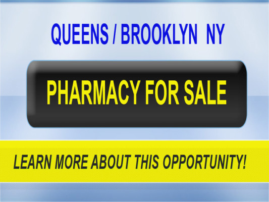 Queens / Brooklyn NY Pharmacy for Sale