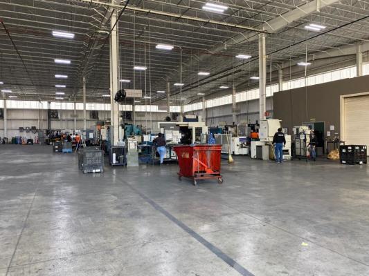 CNC Machining Automotive Plant