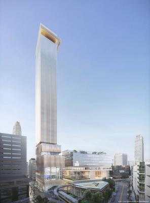 Hotel/ Office Tower Project Lisbon