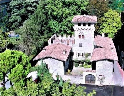Castle for Sale Near the Center of Bergamo