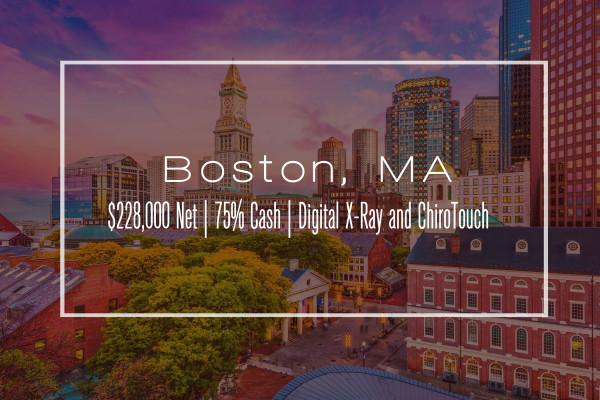 $228,000 Net - Part Time Clinic - Boston