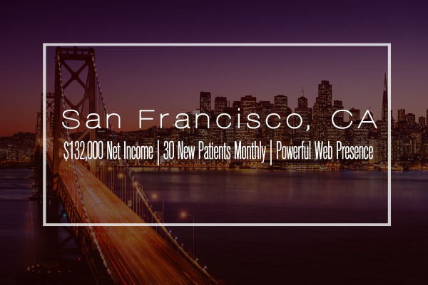 San Francisco Clinic W/ Incredible Growth Potential