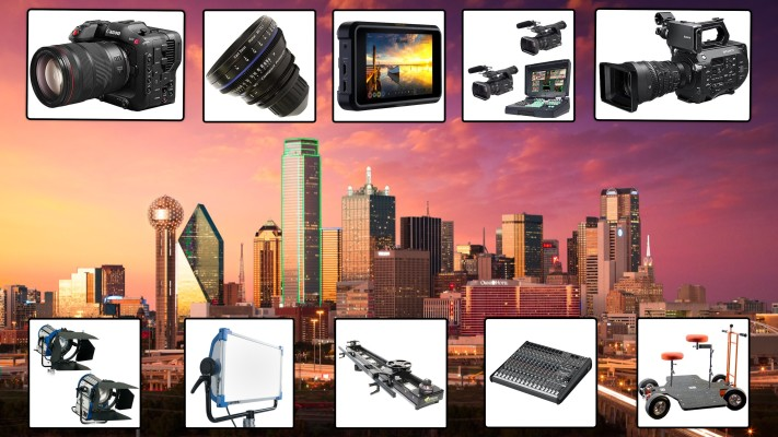 DFW Professional Video Equipment Rentals